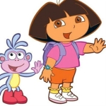 "Image for the Animation programme ""Dora the Explorer"""