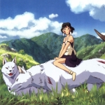 "Image for the Film programme ""Princess Mononoke"""