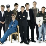 "Image for the Sitcom programme ""Extras"""