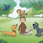 "Image for the Animation programme ""Curious George"""
