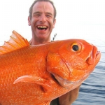 "Image for the Documentary programme ""Extreme Fishing with Robson Green"""