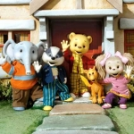 "Image for the Animation programme ""Rupert Bear"""
