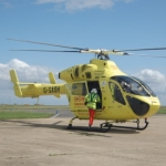 "Image for the Documentary programme ""Helicopter Heroes"""