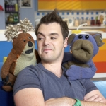 "Image for the Childrens programme ""Bear Behaving Badly"""