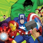 "Image for the Animation programme ""The Avengers: Earth's Mightiest Heroes"""