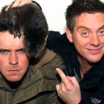 "Image for the Childrens programme ""Dick and Dom Go Wild"""