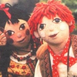 "Image for the Childrens programme ""Rosie and Jim"""