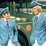 "Image for the Film programme ""Holiday on the Buses"""