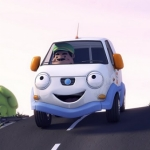 "Image for the Childrens programme ""Olly the Little White Van"""