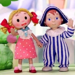 "Image for the Animation programme ""Andy Pandy"""