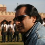 "Image for the Documentary programme ""India with Sanjeev Bhaskar"""