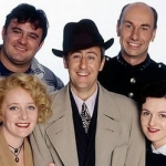 "Image for the Sitcom programme ""Goodnight Sweetheart"""