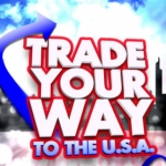 "Image for the Childrens programme ""Trade Your Way to the USA"""