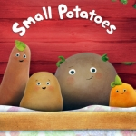 "Image for the Childrens programme ""Small Potatoes"""