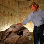 "Image for the History Documentary programme ""Chasing Mummies"""