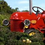"Image for the Childrens programme ""Little Red Tractor"""