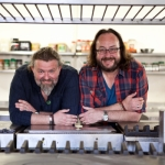 "Image for the Cookery programme ""The Hairy Bikers' Meals on Wheels"""