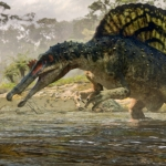 "Image for the History Documentary programme ""Planet Dinosaur"""