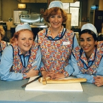 "Image for the Sitcom programme ""Dinnerladies"""