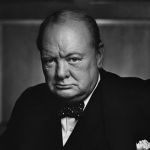 "Image for the History Documentary programme ""Churchill's Bodyguard"""