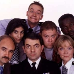"Image for the Sitcom programme ""The Thin Blue Line"""