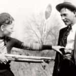 "Image for the History Documentary programme ""Bonnie and Clyde"""