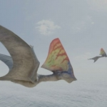 "Image for the Nature programme ""Flying Monsters"""