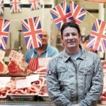 "Image for the Cookery programme ""Jamie's Great Britain"""