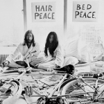 "Image for the Film programme ""John Lennon: Bed-In"""