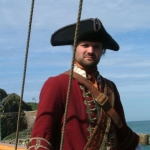 "Image for the History Documentary programme ""Blackbeard"""