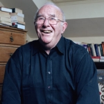 "Image for the Chat Show programme ""Clive James Talking in the Library"""