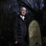 "Image for the History Documentary programme ""Tony Robinson's Gods and Monsters"""