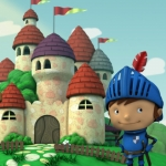 "Image for the Childrens programme ""Mike the Knight"""