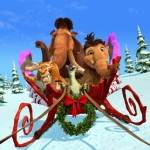 "Image for the Animation programme ""Ice Age: A Mammoth Christmas"""