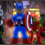 "Image for the Animation programme ""The Super Hero Squad Show"""