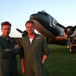 "Image for the History Documentary programme ""Bomber Boys"""