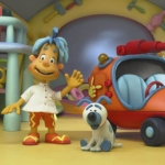 "Image for the Childrens programme ""Engie Benjy"""