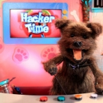 "Image for the Childrens programme ""Hacker Time"""