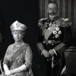 "Image for the History Documentary programme ""King George and Queen Mary: The Royals Who Rescued The Monarchy"""