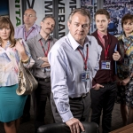 "Image for the Sitcom programme ""Twenty Twelve"""