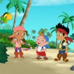 "Image for the Childrens programme ""Jake and the Neverland Pirates"""