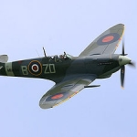 "Image for the History Documentary programme ""The Spitfire"""