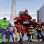 "Image for the Animation programme ""The Avengers"""