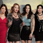 "Image for the Reality Show programme ""Mob Wives"""