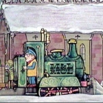 "Image for the Animation programme ""Ivor the Engine"""