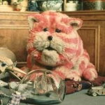 "Image for the Childrens programme ""Bagpuss"""