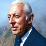 "Image for the Documentary programme ""The Unseen Alistair Cooke"""