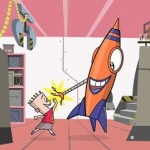 "Image for the Animation programme ""I Got a Rocket"""