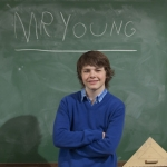 "Image for the Childrens programme ""Mr Young"""