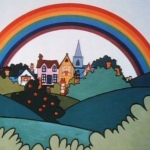 "Image for the Childrens programme ""Rainbow"""